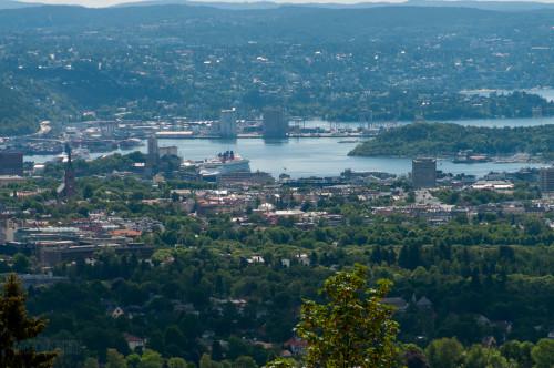 Disney Magic In Oslo From Holmenkollen