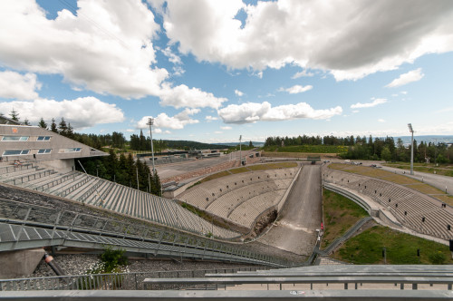 Holmenkollen Ski Jump Viewing Area