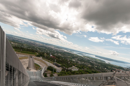 Holmenkollen Ski Jumpers View