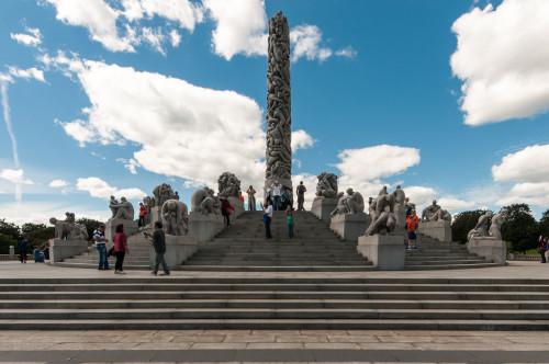 Vigeland Sculpture Park Obelisk