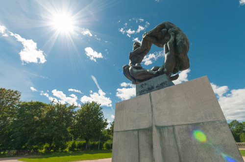 Vigeland Sculpture Park Circle