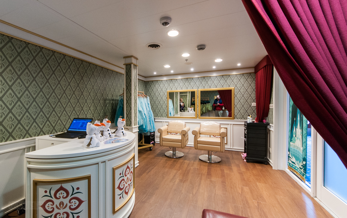 Bibbidi Bobbidi Boutique Anna & Elsa's Boutique Disney Magic D