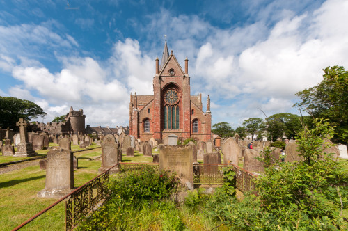 St. Magnus Cathedral Cemetary Kirkwall, Scotland