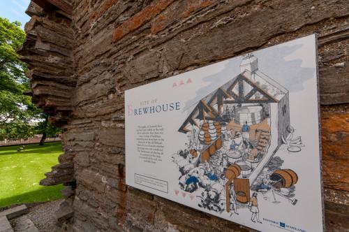 The Earl's Palace Brewhouse, Kirkwall Scotland