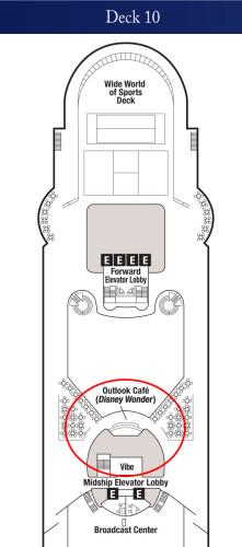 Disney Magic Deck 10 Conciege Lounge Dry Dock 2015