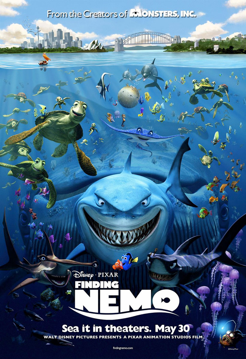 Finding Nemo Movie Poster