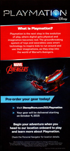 Playmation DCL Pre Order