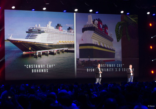 D23 Disney Infinity DCL Dreamship Castaway Cay Toybox Unlockables