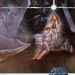 Star Wars New Hope IV Movie Poster