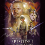 Star Wars Phantom Menace I Movie Poster