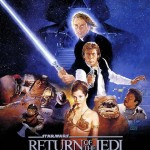 Star Wars Return Jedi VI Movie Poster