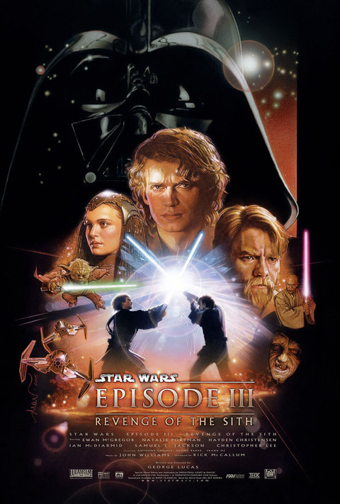Star Wars Revenge Sith III Movie Poster