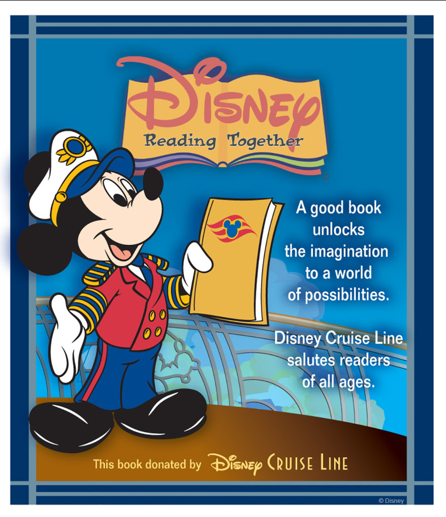 DCL Disney Reading Together Book Sticker