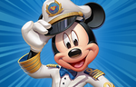 MDE DCL Captain Mickey Medium