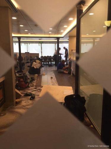 Magic 2015 Dry Dock Conciege Lounge In Progress