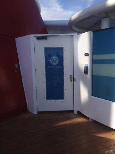 Magic 2015 Dry Dock Conciege Outdoor Seatin Entrance