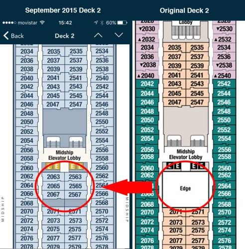 Magic 2015 Dry Dock Deck 2 New Staterooms