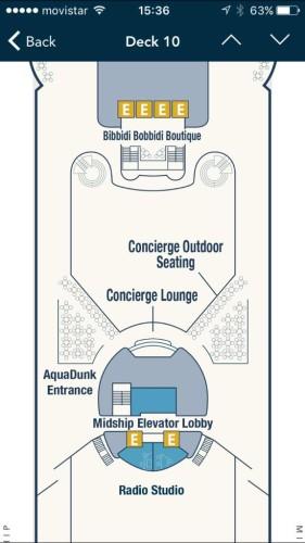 Magic 2015 Dry Dock Deck Plan Deck 10 Concierge BBB