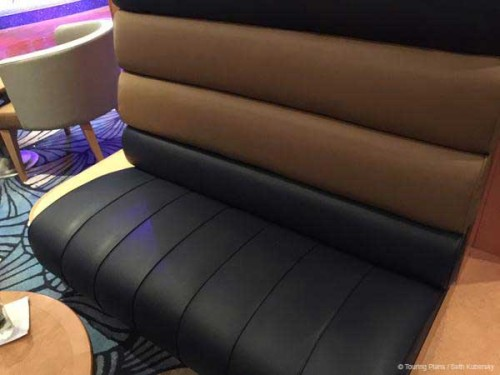 Magic 2015 Dry Dock Promenade Lounge Upholstery Booth