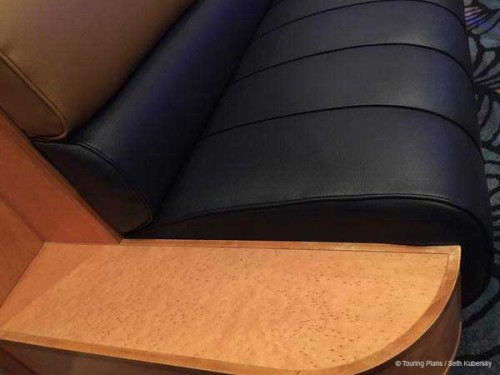 Magic 2015 Dry Dock Promenade Lounge Upholstery Booth Bench