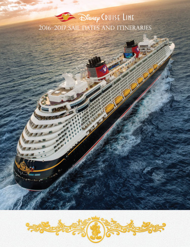 DCL Itinerary Brochure October 2015 2016 2017 Winter Dates Cover
