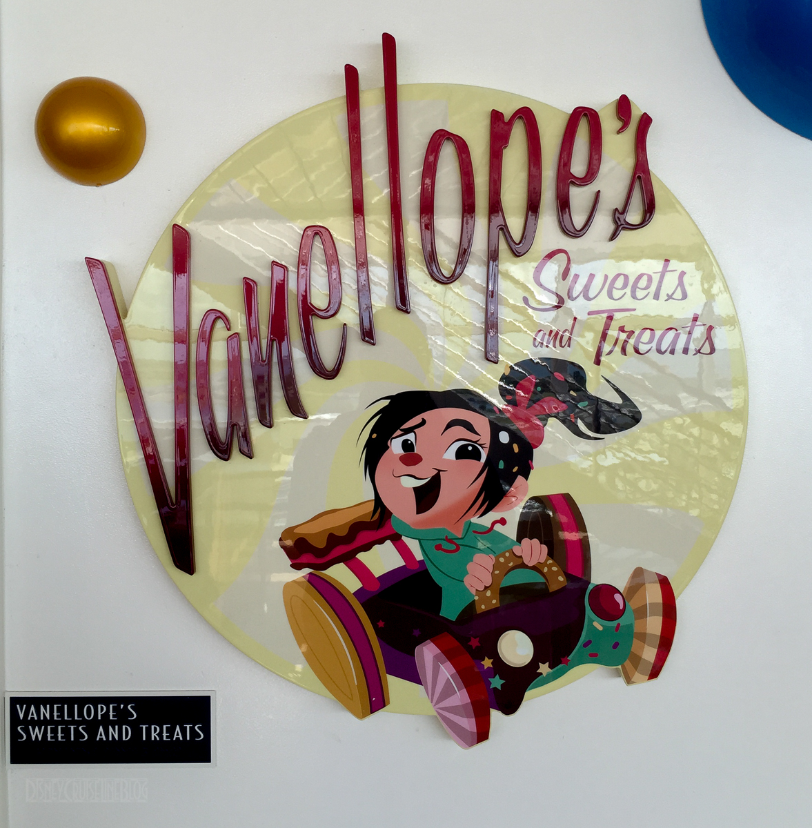 Vanellope's Sweets And Treats Sign