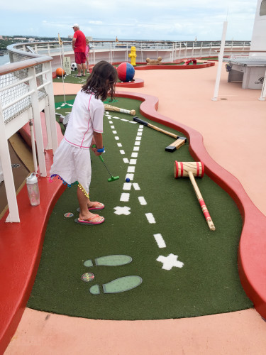 Goofy's Mini Golf