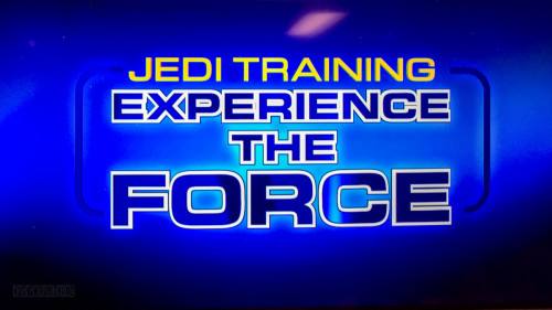 Jedi Training Experience The Force Logo