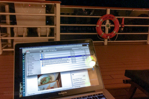 Deck 4 Late Night Blogging