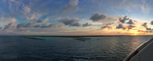 Backing Into Castaway Cay