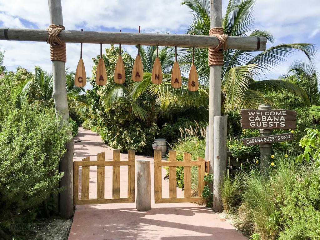 Family Beach Cabana Gate