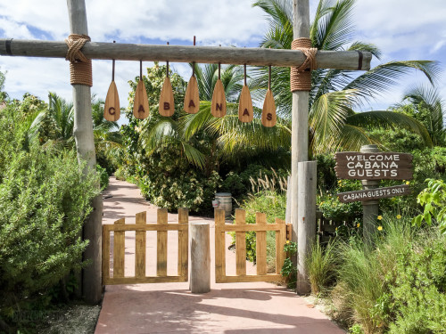 Family Beach Cabana Gate