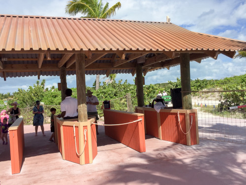 Castaway Cay Security Checkpoint