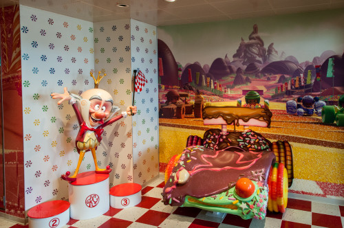 Vanellope's Sweets And Treats King Candy Race Car
