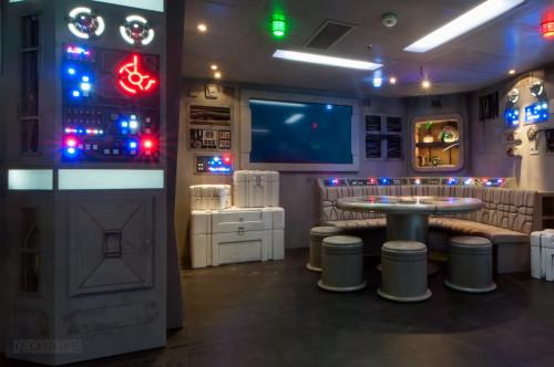 Star Wars Millenium Falcon Starboard Area Wide Oceaneer Club Dis