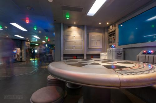 Star Wars Millenium Falcon Starboard Area Oceaneer Club Disney D