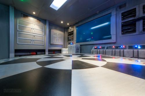 Star Wars Millenium Falcon Starboard Area Table Top View Oceanee