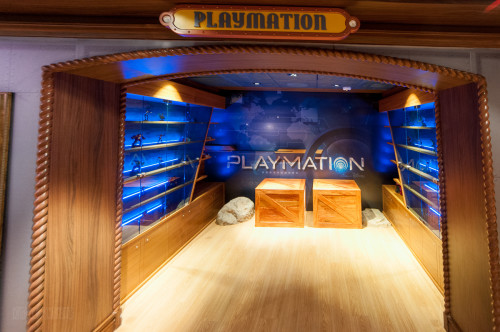 Playmation Oceaneer Lab Entrance Disney Dream