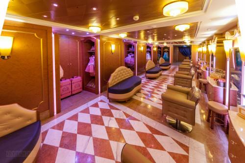 Bibbidi Bobbidi Boutique Interior Disney Dream