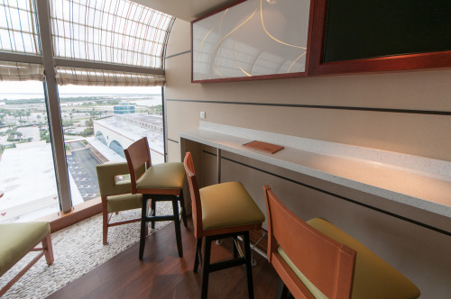 Senses Juice Bar Seating Disney Dream