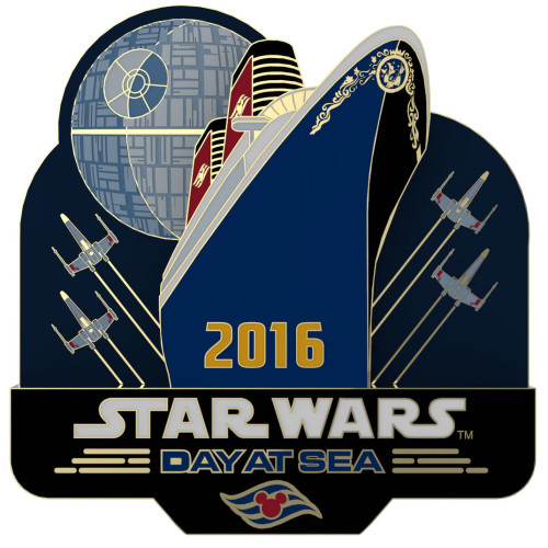 SWDAS Item 18 STAR WARS Day At Sea Limited Release Logo Pin
