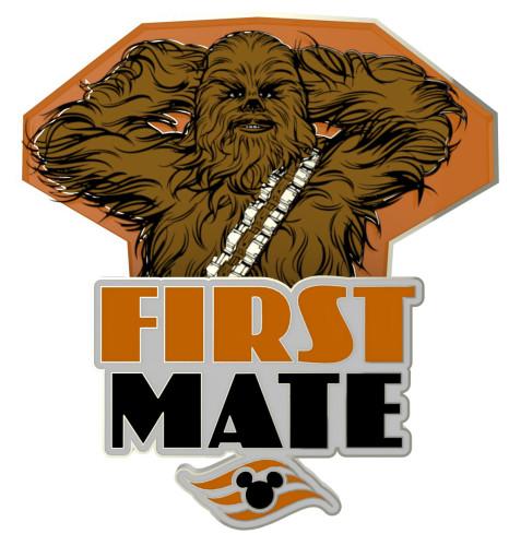 SWDAS Item 22 First Mate Chewbacca PIN