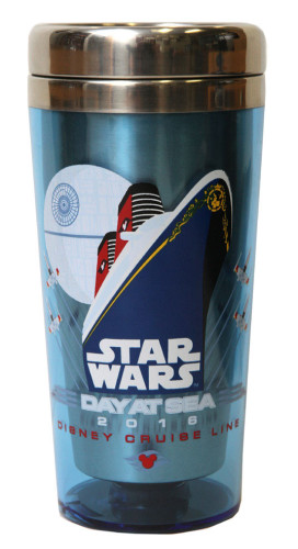 SWDAS Item 85 STAR WARS Day At Sea Coffee Tumbler