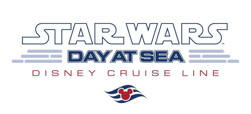 Star Wars Day At Sea DCL Text Logo