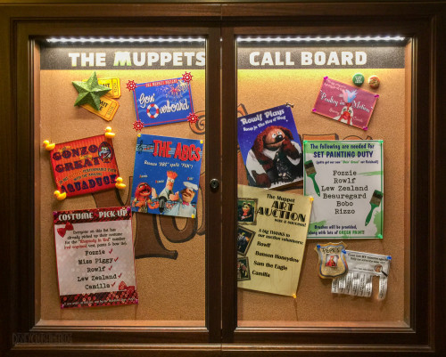The Muppets Call Board Disney Dream
