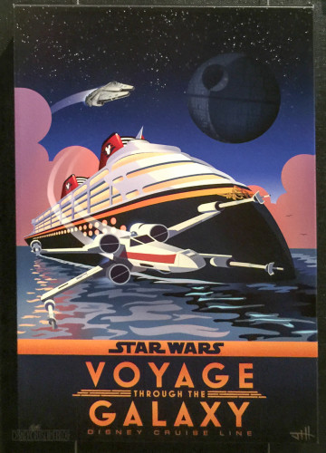 Star Wars DCL Voyage Through The Galaxy Canvas Vista Gallery