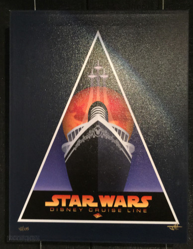 DCL Star Wars LE Signed Canvas Vista Gallery
