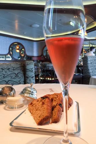 Remy Brunch Bread & Taittinger Prestive Cuvée Rosé Disney Drea