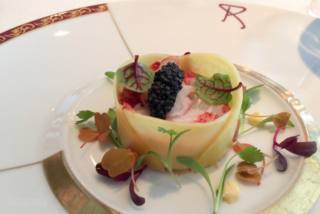 Remy Brunch Lobster Caviar MangoDisney Dream