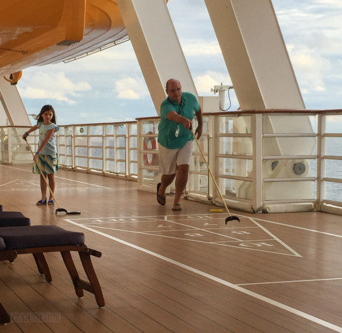 Shuffleboard Disney Dream